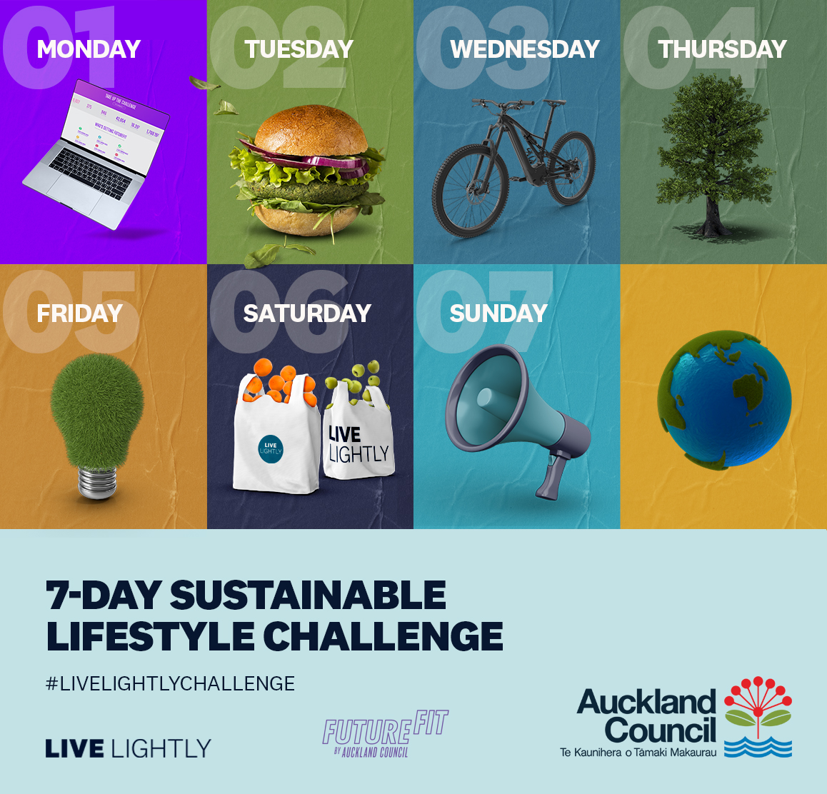 Live Lightly: 7-Day Sustainable Lifestyle Challenge