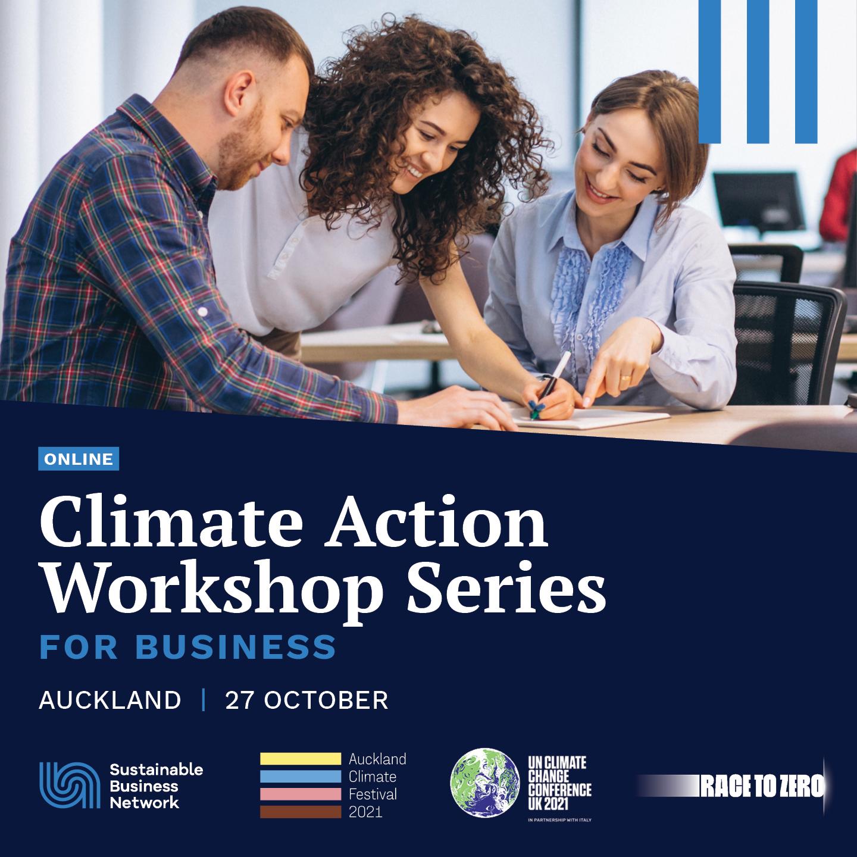 Climate Action Workshop - Auckland