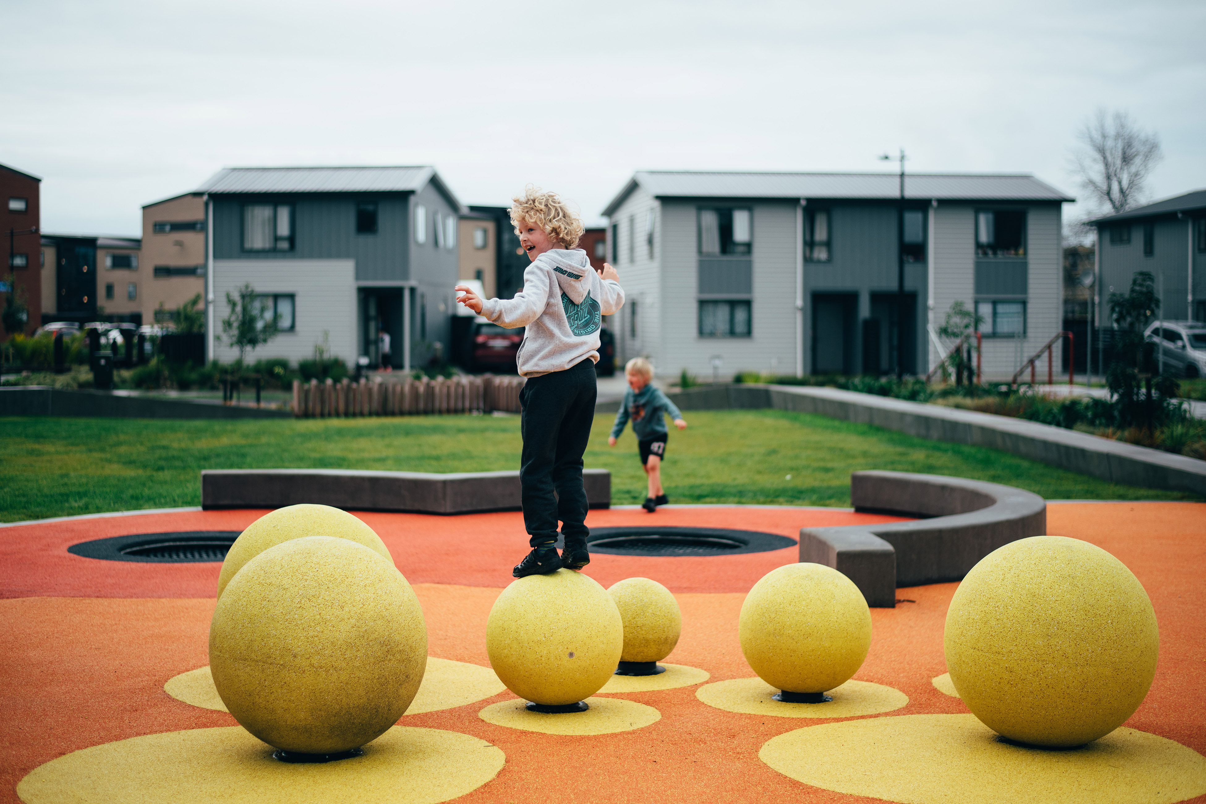 Future neighbourhoods: Sustainability as wellbeing in a new generation of suburb