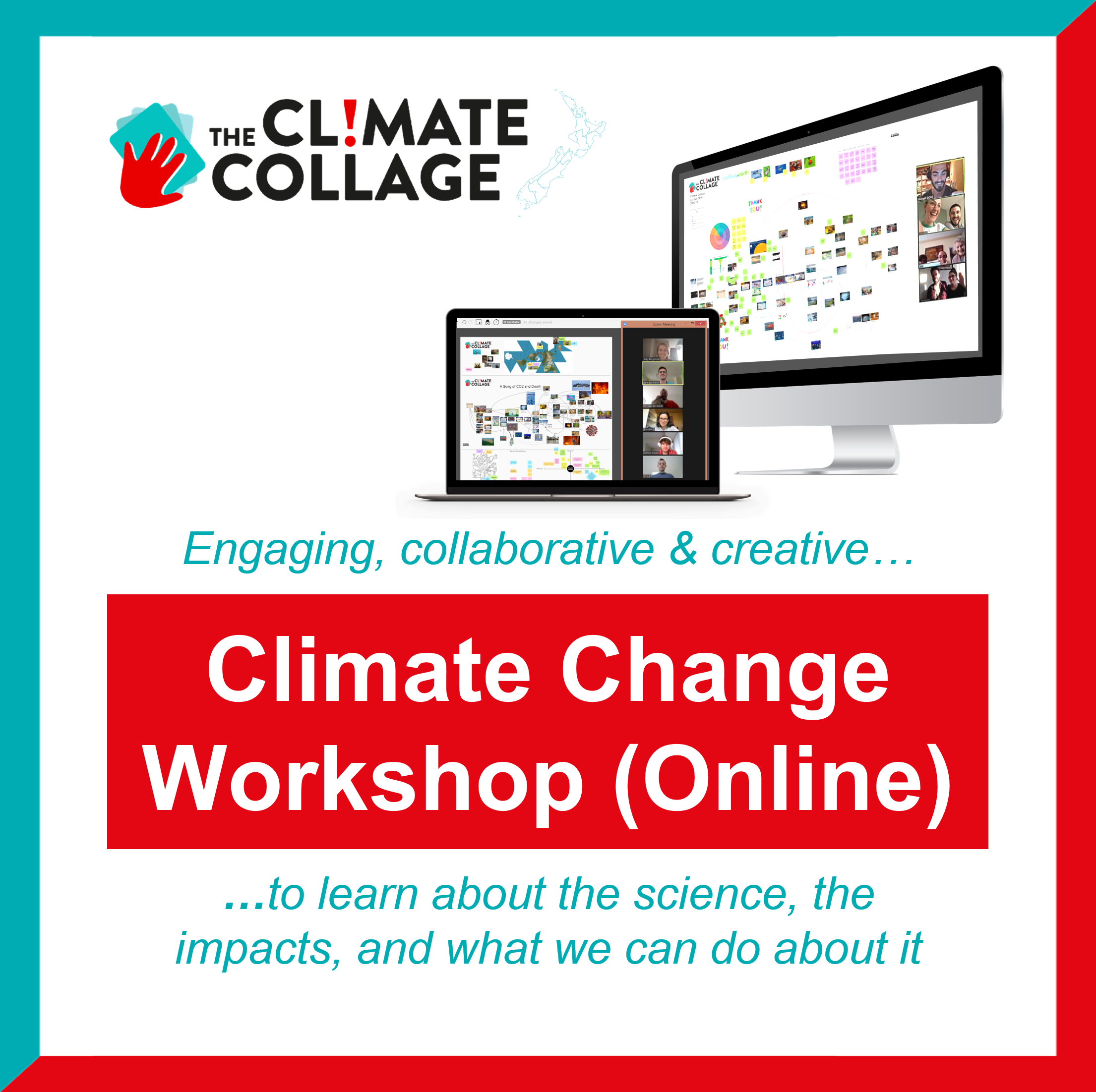 The Climate Collage - Interactive Climate Change Learning