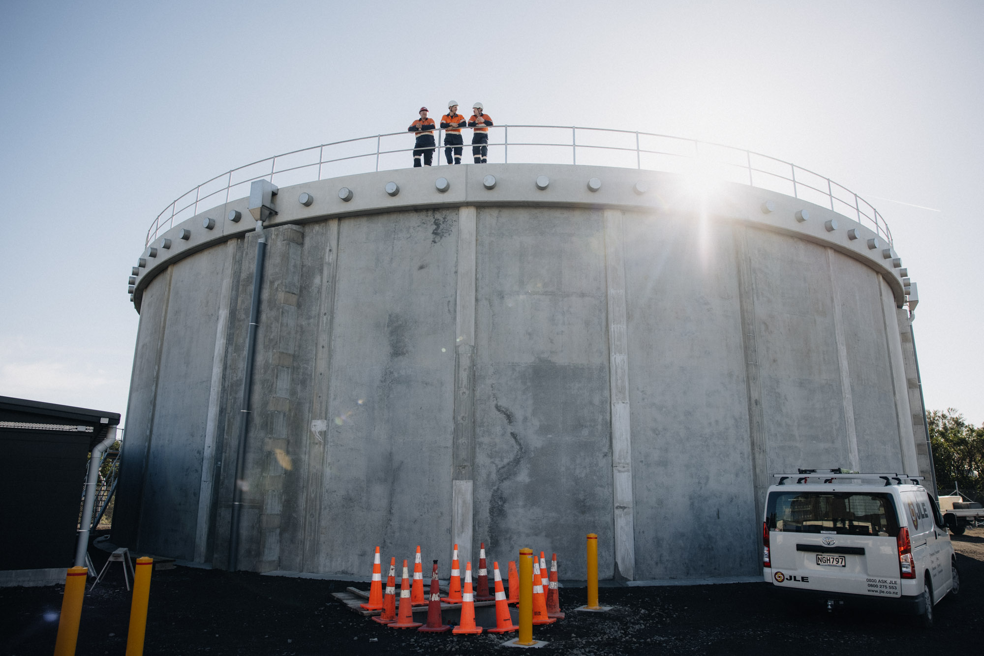 NPDC Reservoirs Construction