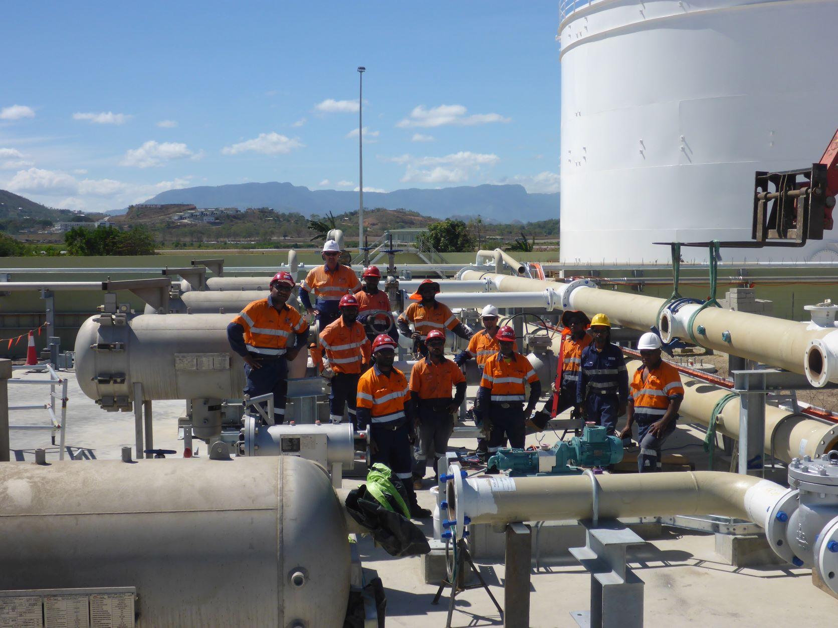 Erima Fuel Terminal Facility Piping
