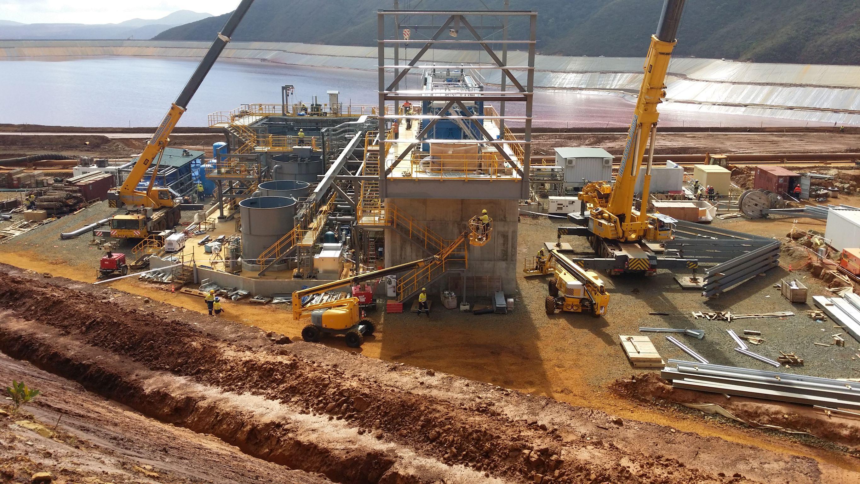 Vale Dewatering Plant E&I Installation