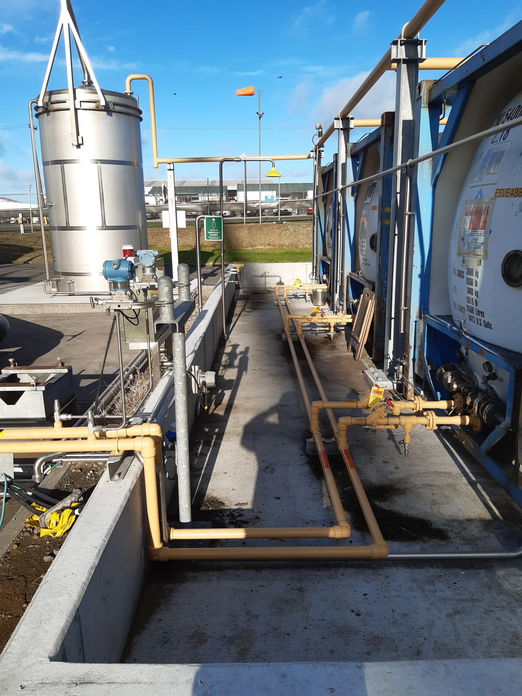 EC5 Ammonia upgrade