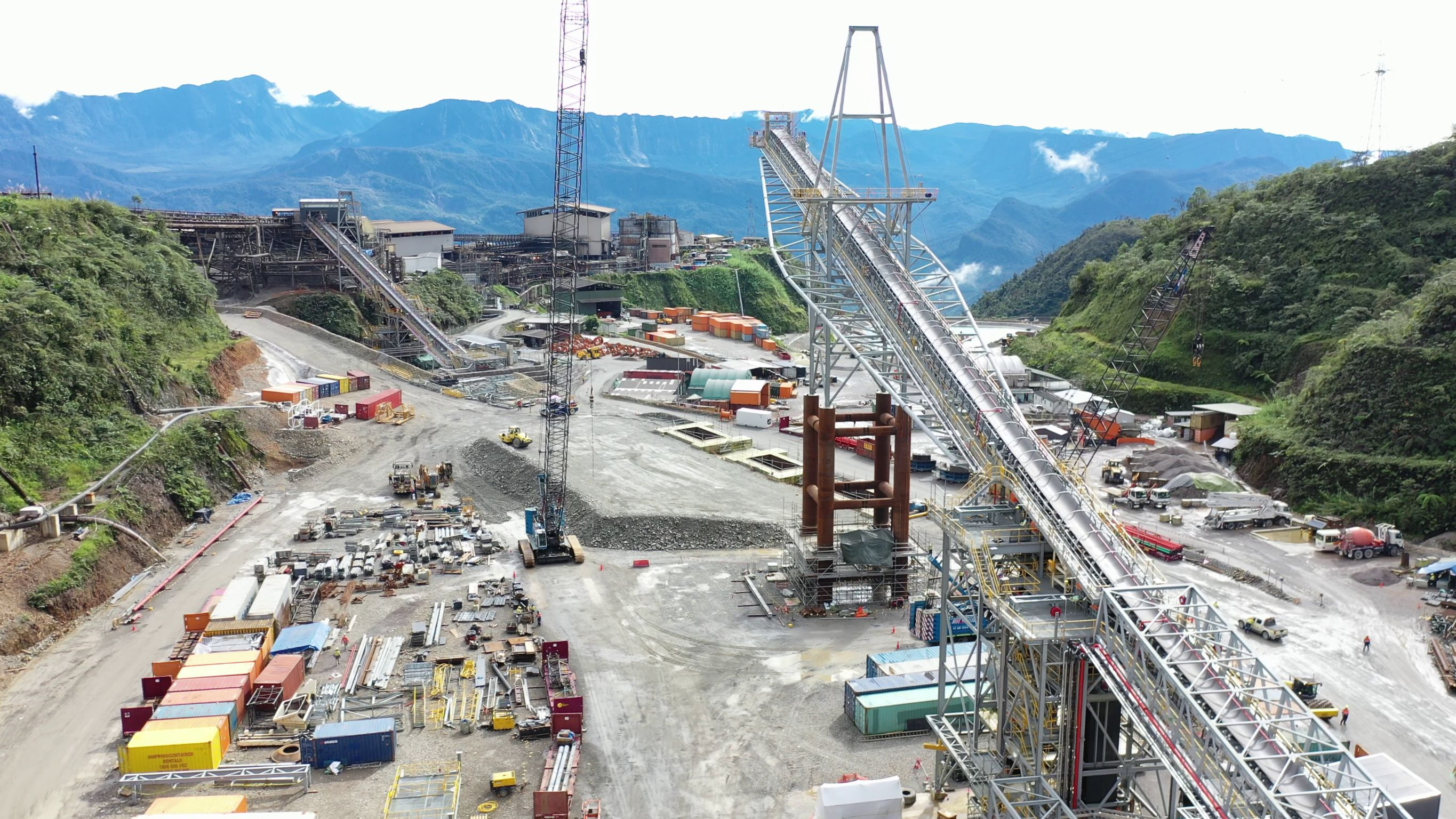 Crusher relocation Construction Project