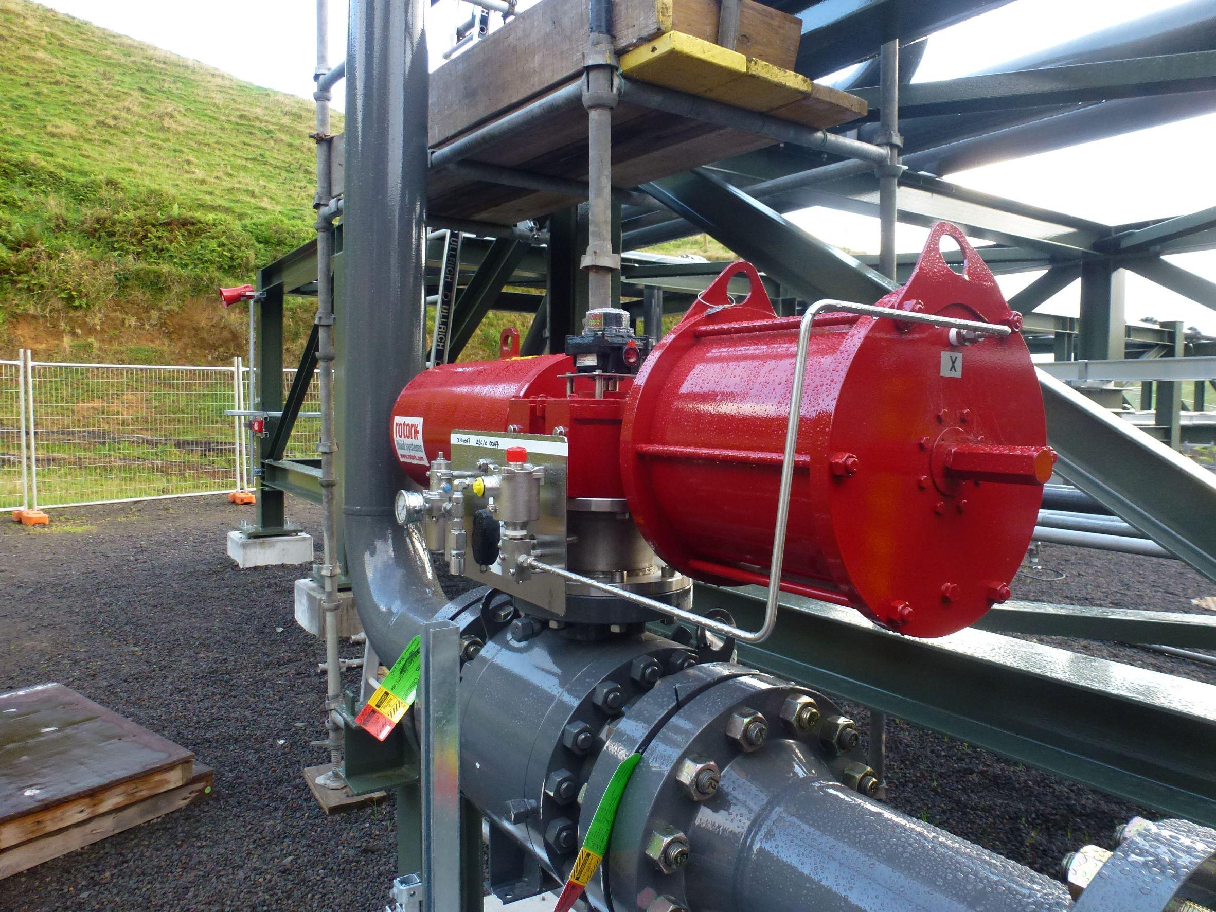Todd Energy Compressor Station