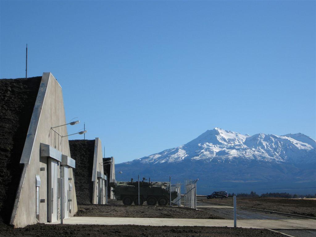 NZDF Waiouru Explosive Storehouses