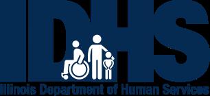 Illinois Department of Human Services' logo