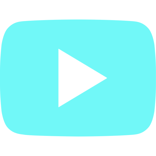 aqua youtube icon