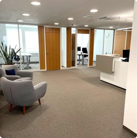 Büro Innenansicht Locaboo GmbH München