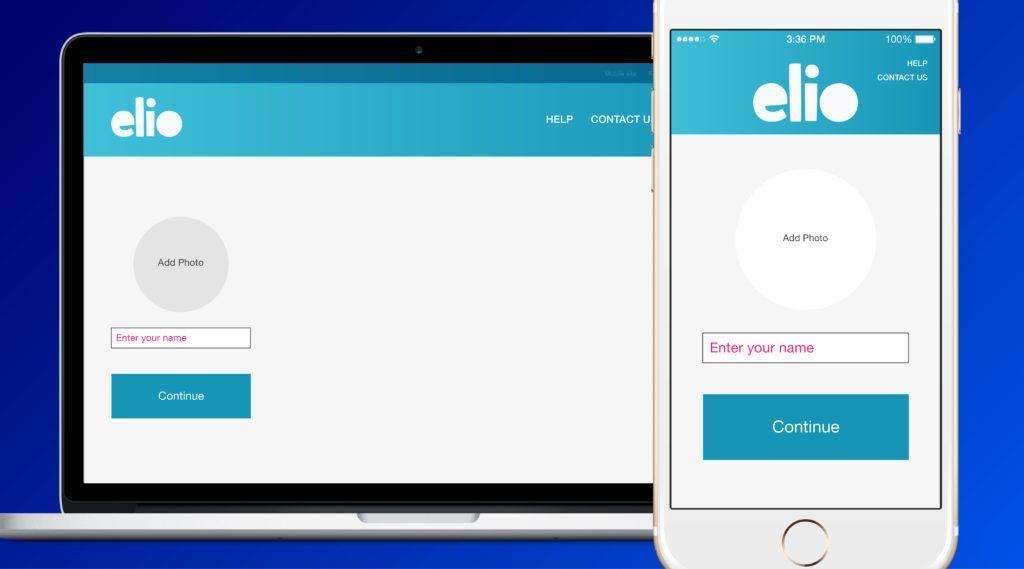 elio app account creation