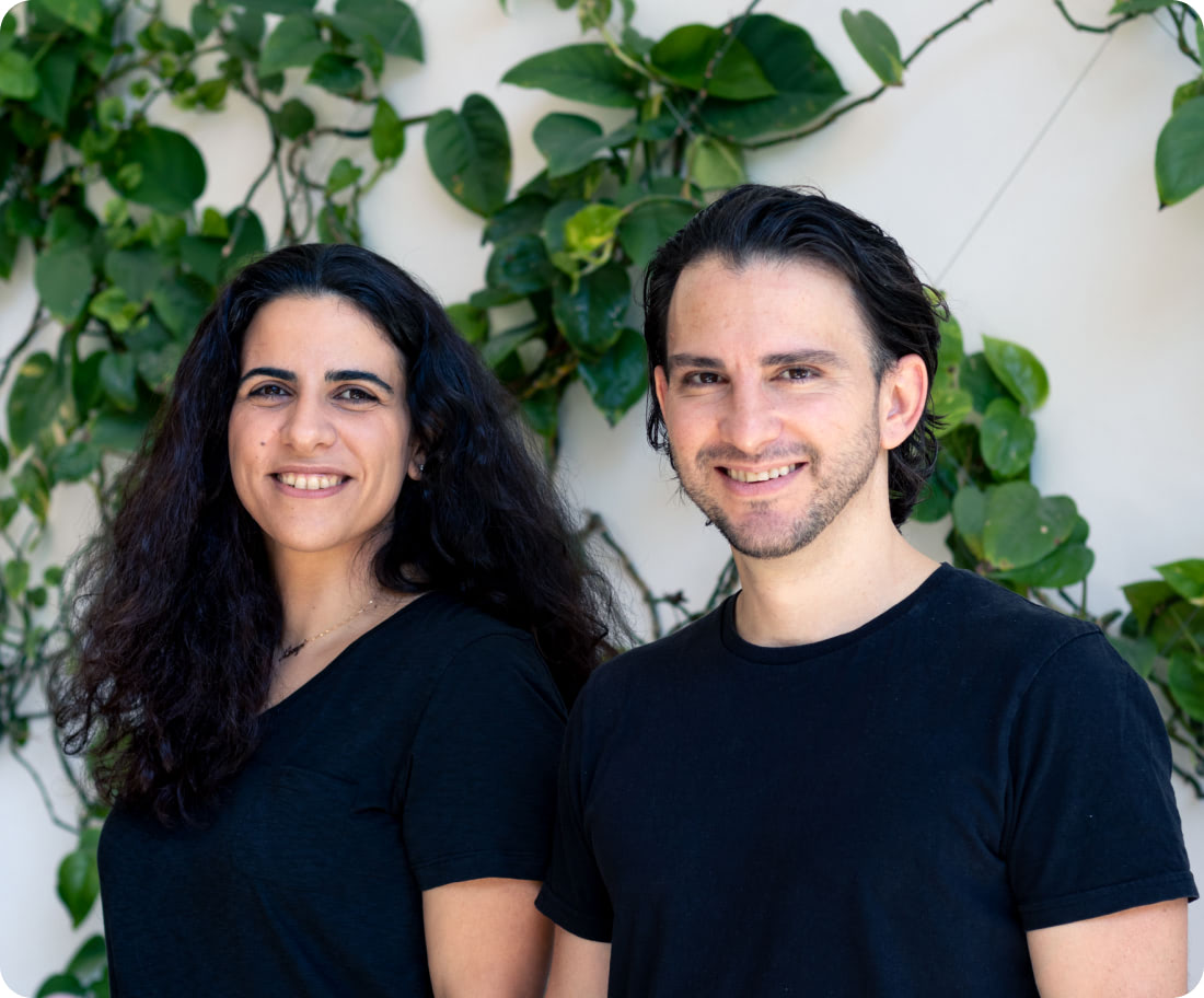 Avrio founders image of Andrew Michael and Natalie Masrujeh