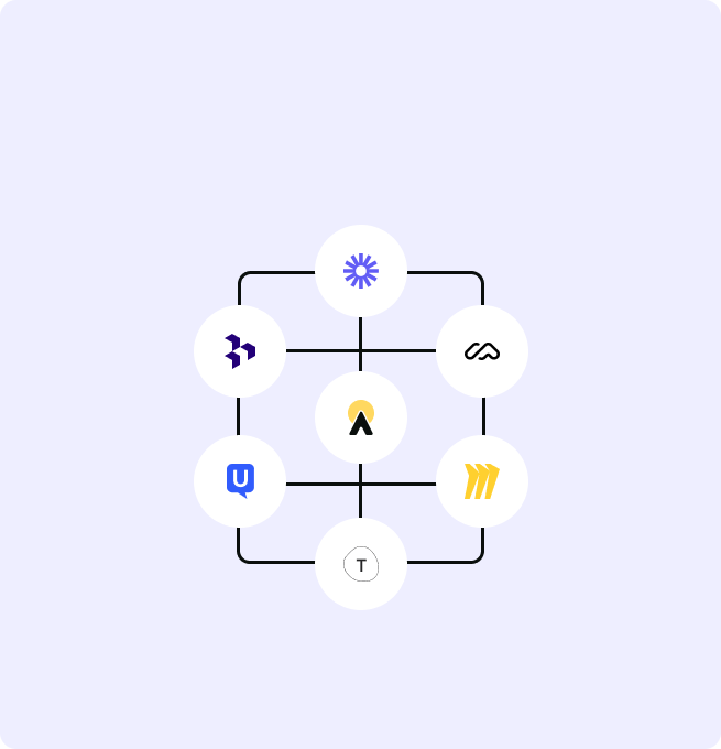 Integrations connected to Avrio via Zapier