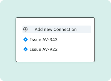 Insight card connections to Jira tickets