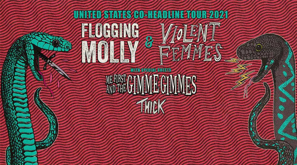 Flogging Molly Violent Femmes Oct 16 2021