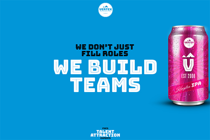 WE DON'T JUST FILL ROLES WE BUILD TEAMS_Brand Tagline