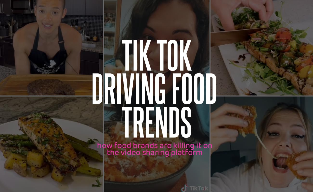 Tik Tok Driving Trends For The Food Industry
