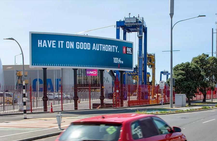 RNZ Billboard