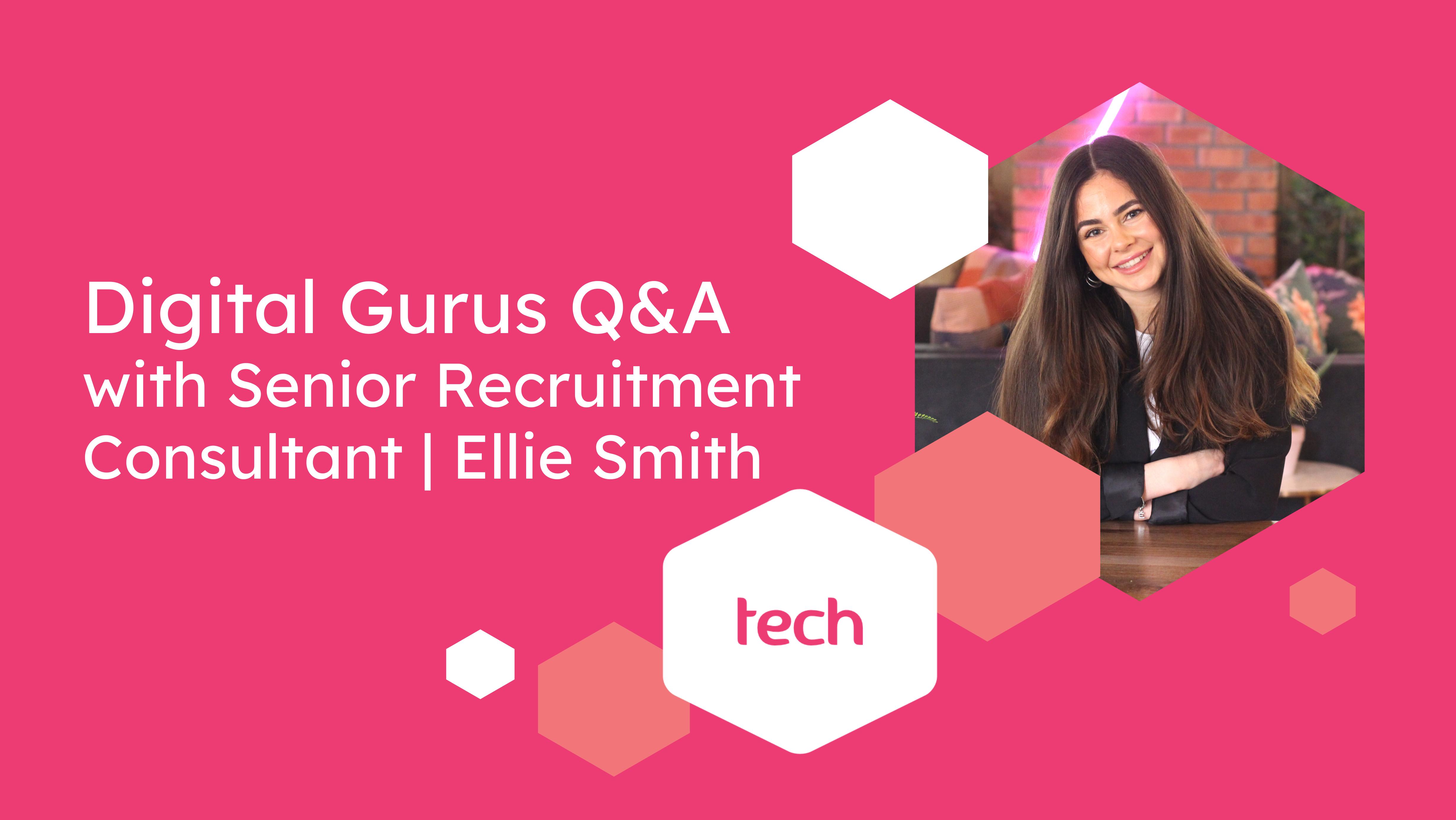 Meet Tech recruiting expert - Ellie Smith