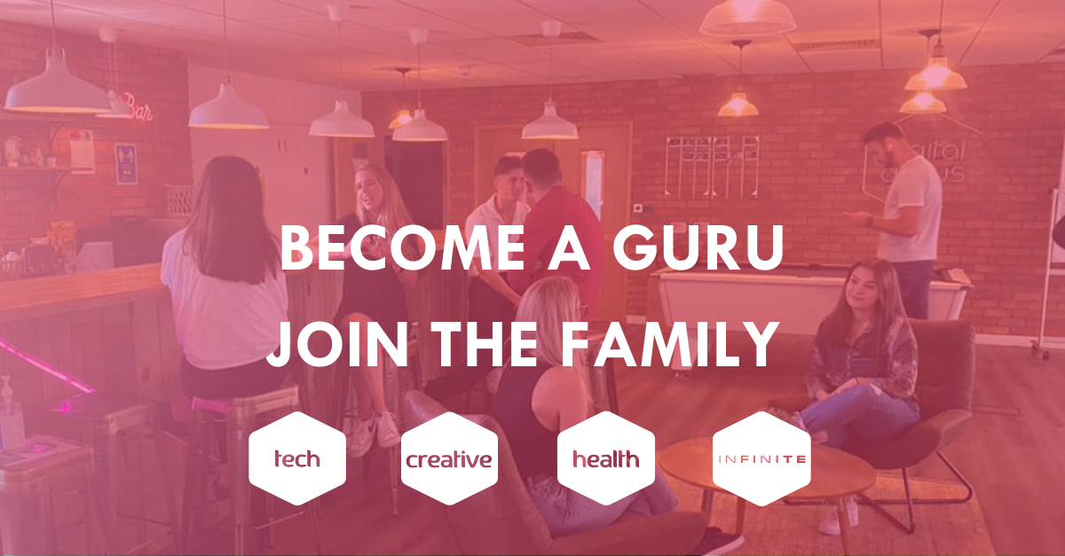 We want you! Join the Digital Gurus family