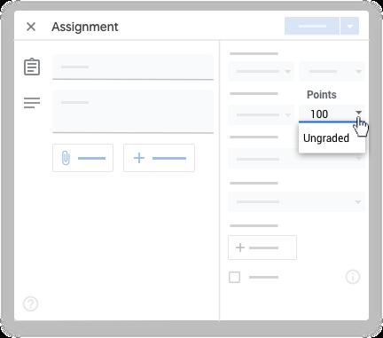 Google classroom - point value