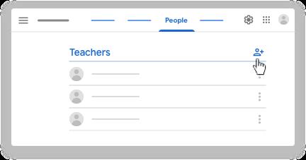 Google classroom - invite co-teachers