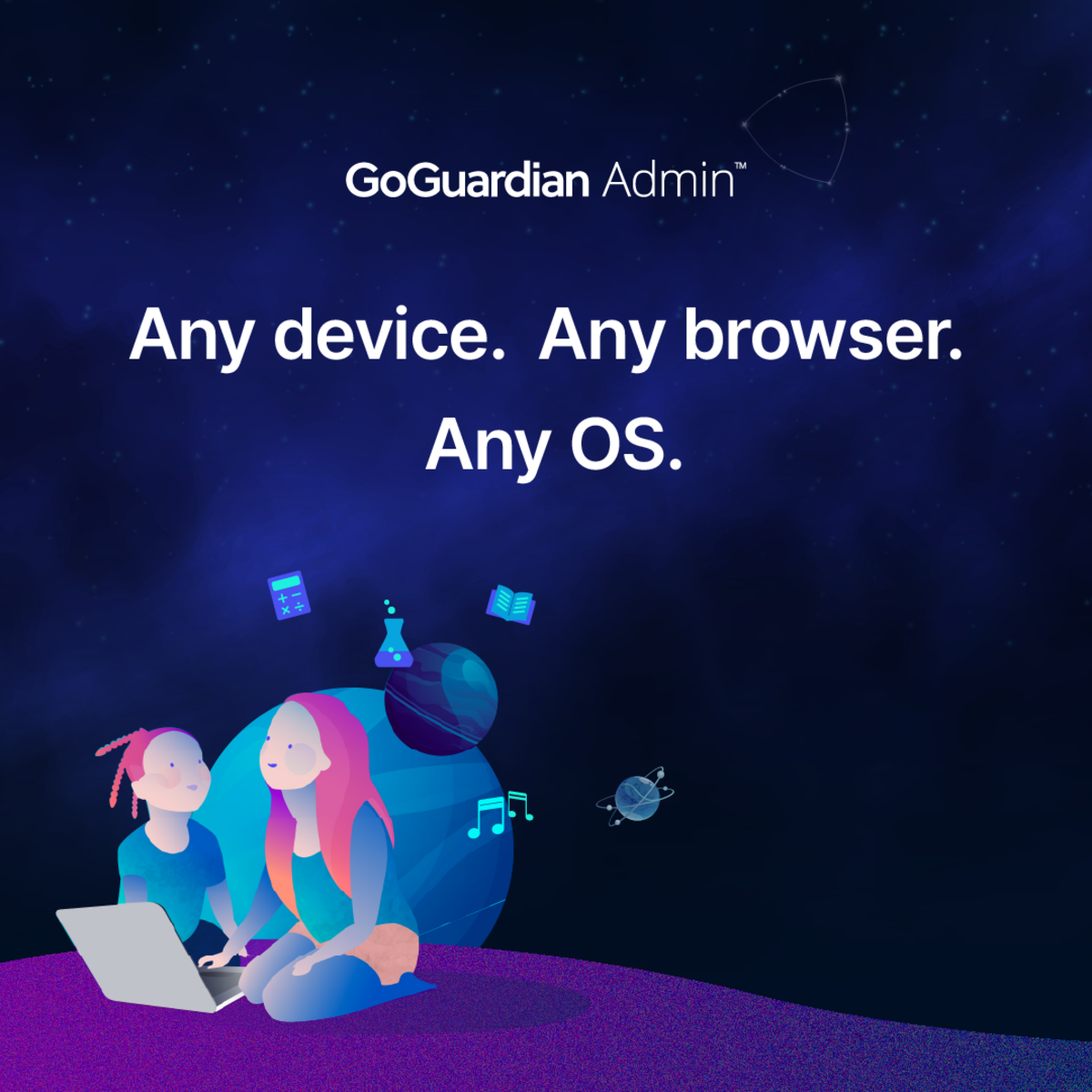 admin any device browser OS