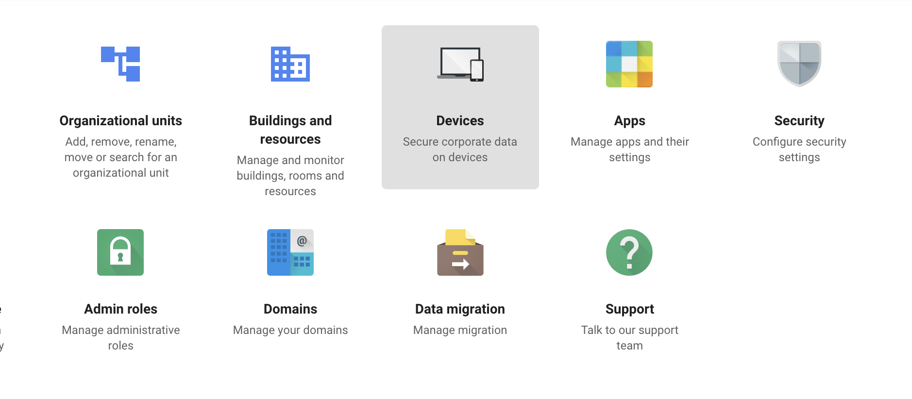 GAFE Devices Selection 2019
