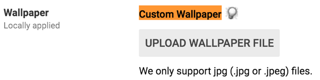 GAFE Custom Chromebook Wallpaper graphic