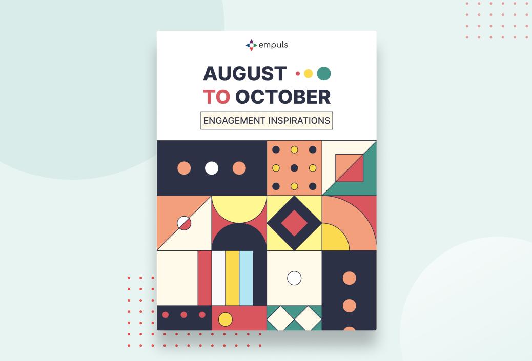 Engagement Calendar August - October 2021