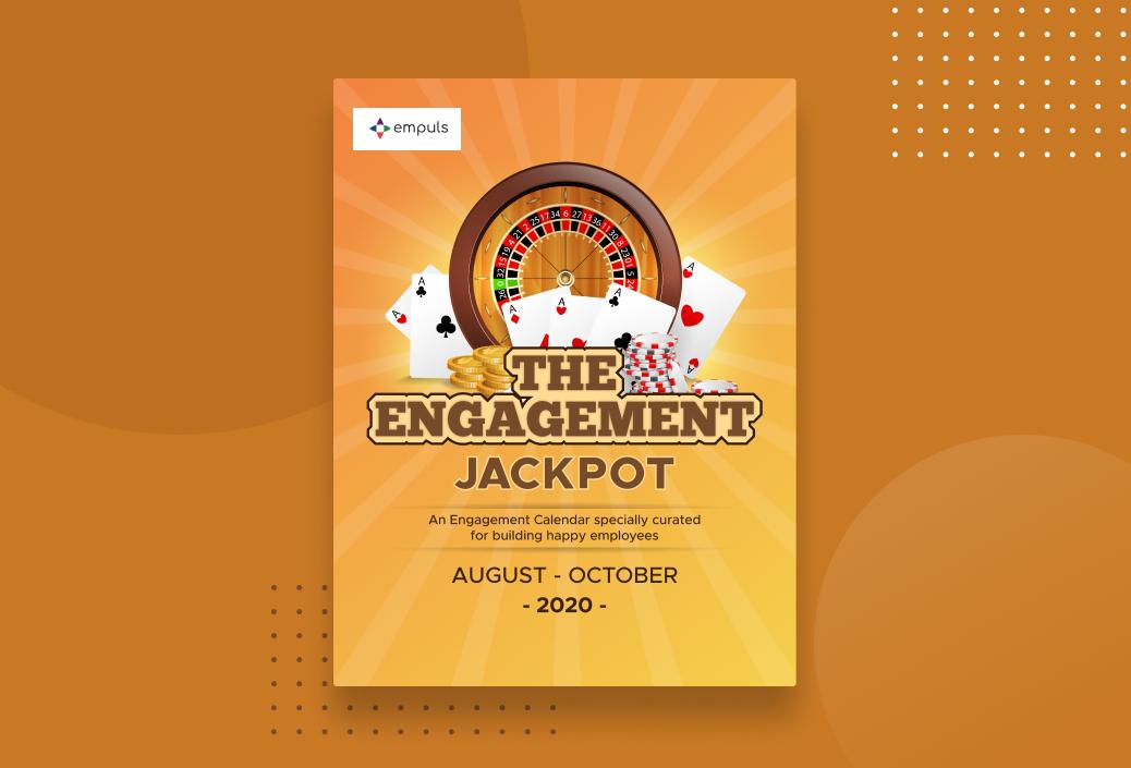 The Engagement Jackpot Calendar August - October 2020