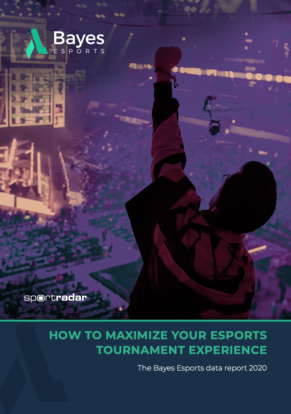"""Image of Bayes white paper titled """"How to maximize your esports tournament experience"""""""