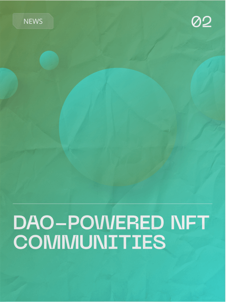DAOs are Decentralized Autonomous Organizations with their own set of rules enforced by algorithms and code. They can be 100% autonomous, without hierarchy, and decentralized from day one if necessary but still rely on members to vote to make any changes that may need to take place as time goes on.