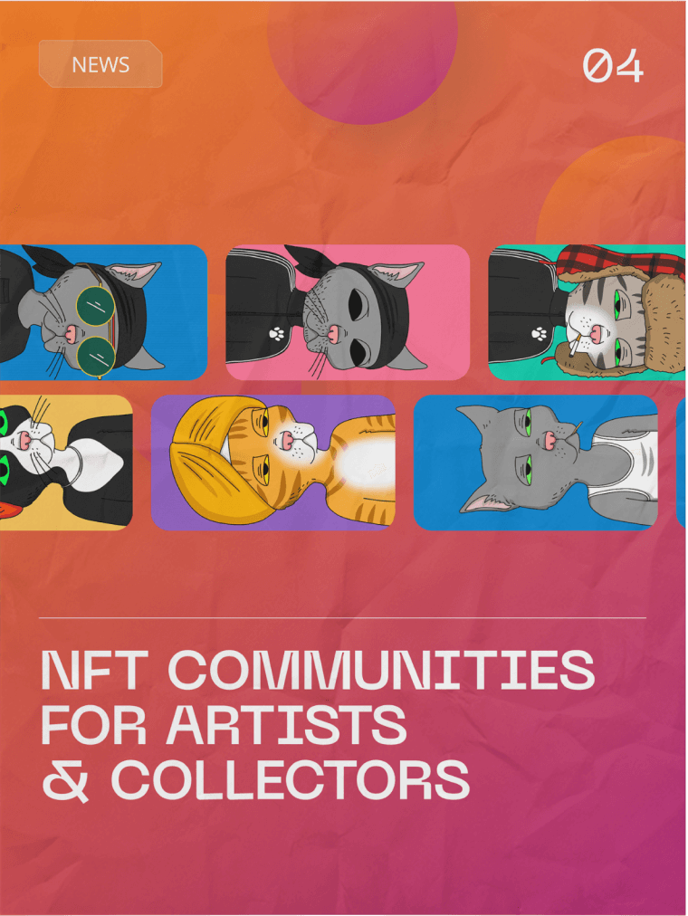 As people approach the NFT space the communities they encounter have more of an impact than any particular platform.