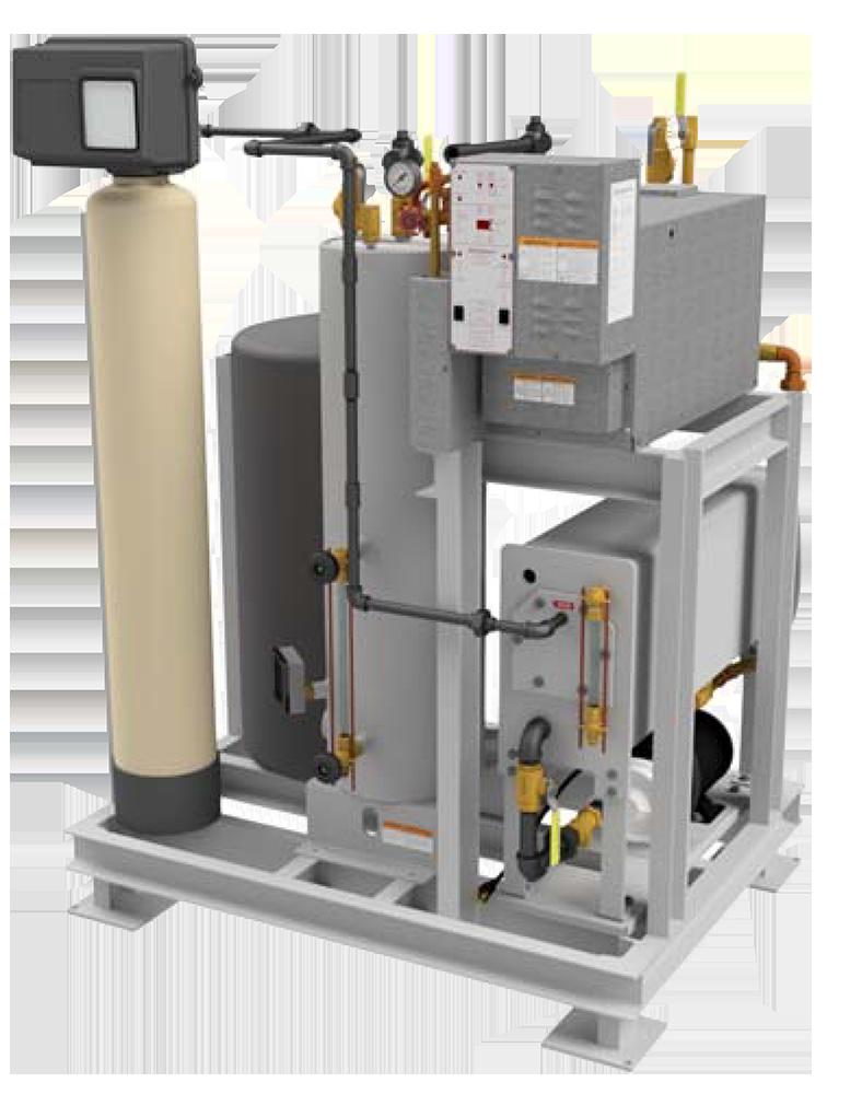 RB‐SeriesBoiler Skid Package8‐30kW (0.8‐3BHP)