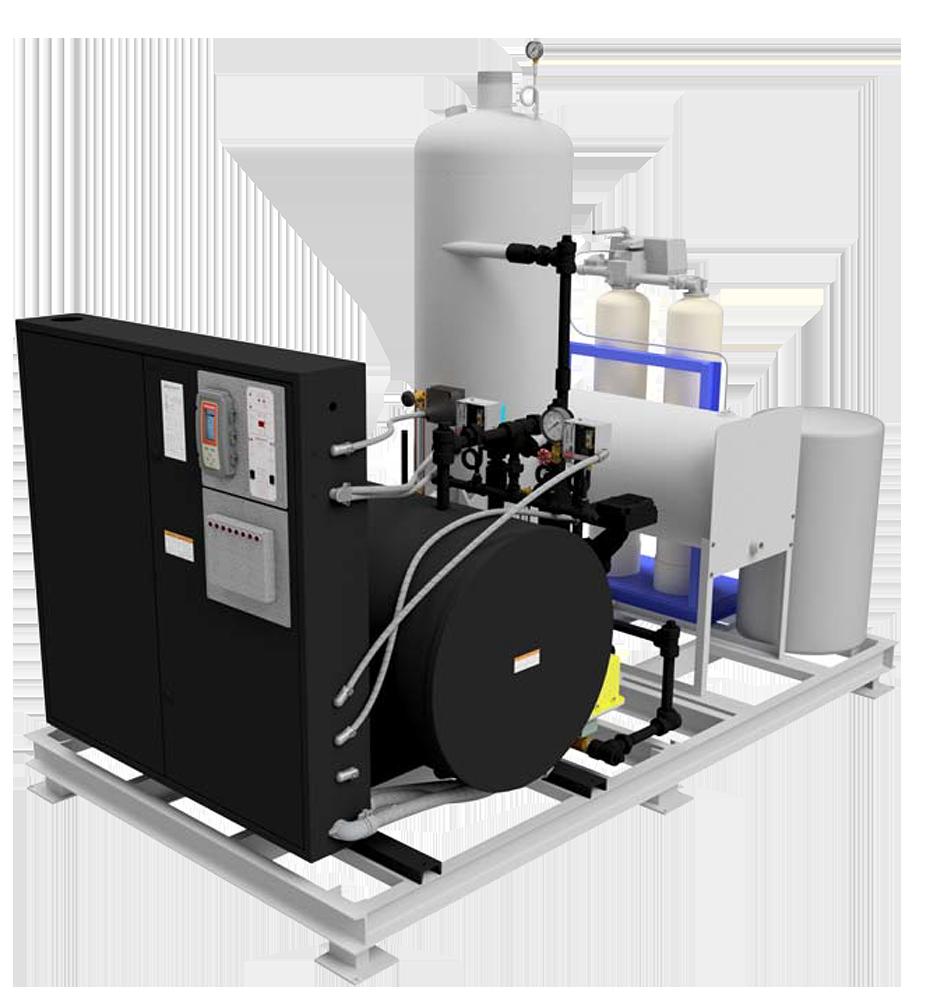 RHP‐SeriesBoiler Skid Package120‐750kW (12‐75BHP)