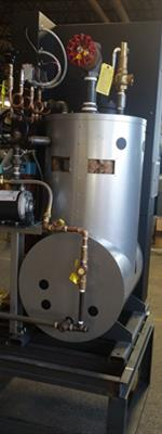 Space Saving Electric Boiler in 210 KW