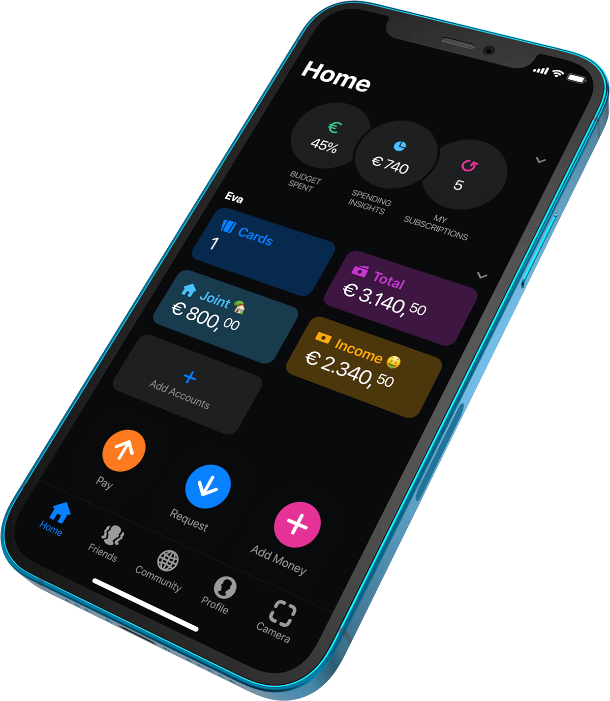 Joint home screen