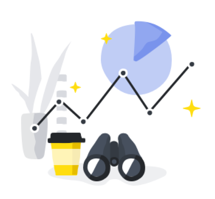 Strategy and business growth illustration.