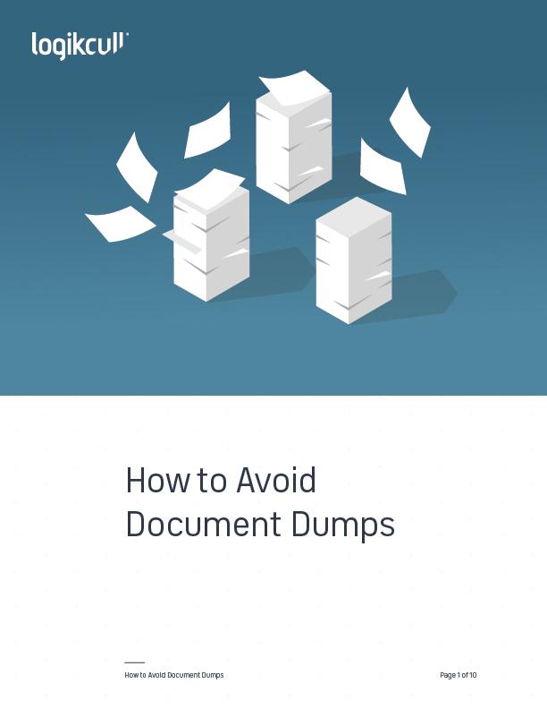 How to Avoid Document Dumps