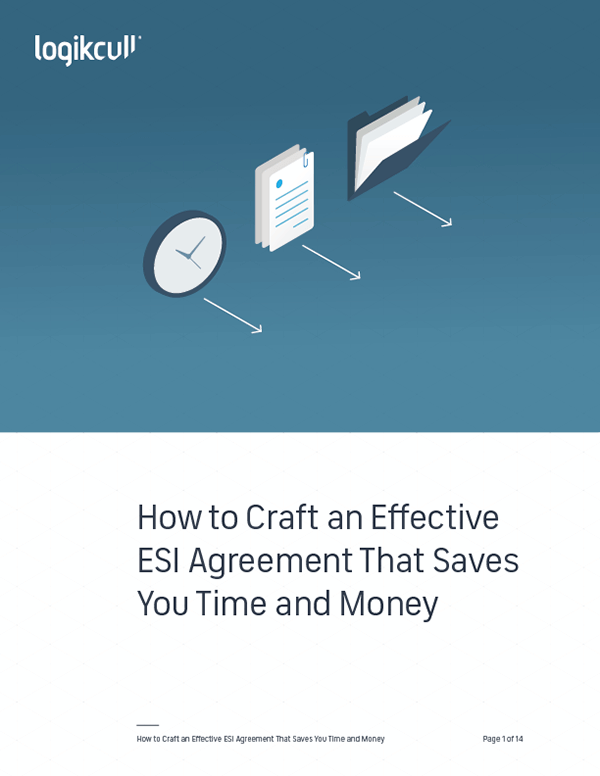 How to Craft an Effective ESI Agreement