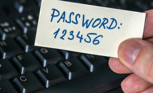 Your lazy password policy is putting your data at risk