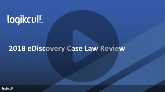 2018 Year End Case Law Review Cover