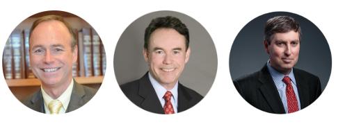 Judge Francis, Gareth Evans, and Michael Simon