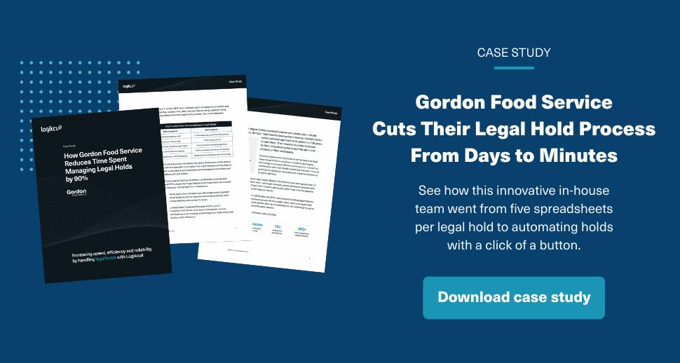 Gordon Food Case Study Download