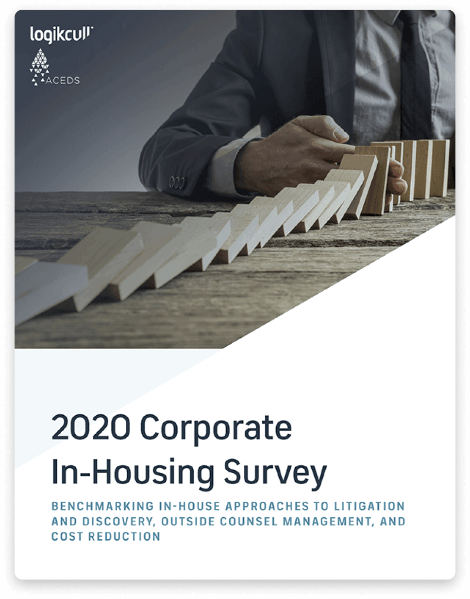 Cover of the Corporate In-Housing Survey