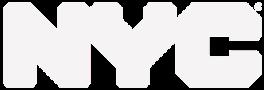 nyc logo white