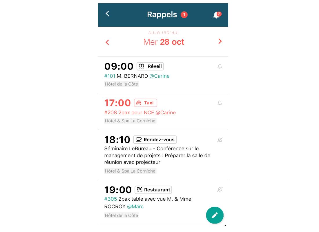 formulaire check in en ligne sur mobile LoungeUp