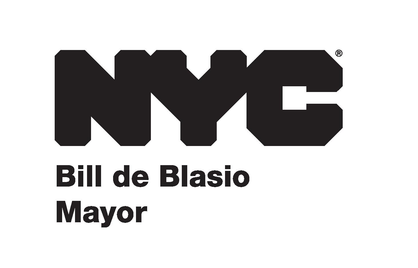 New York City office of Mayor Bill de Blasio logo