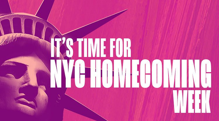 It's Time for NYC Homecoming Week